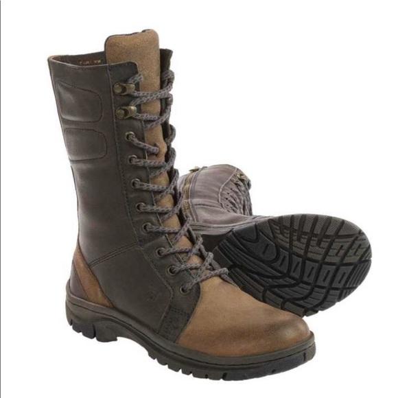 f701b2a71dda Born Shoes - Born Women s Boots Maran Lace   Zip-Up 8 ...